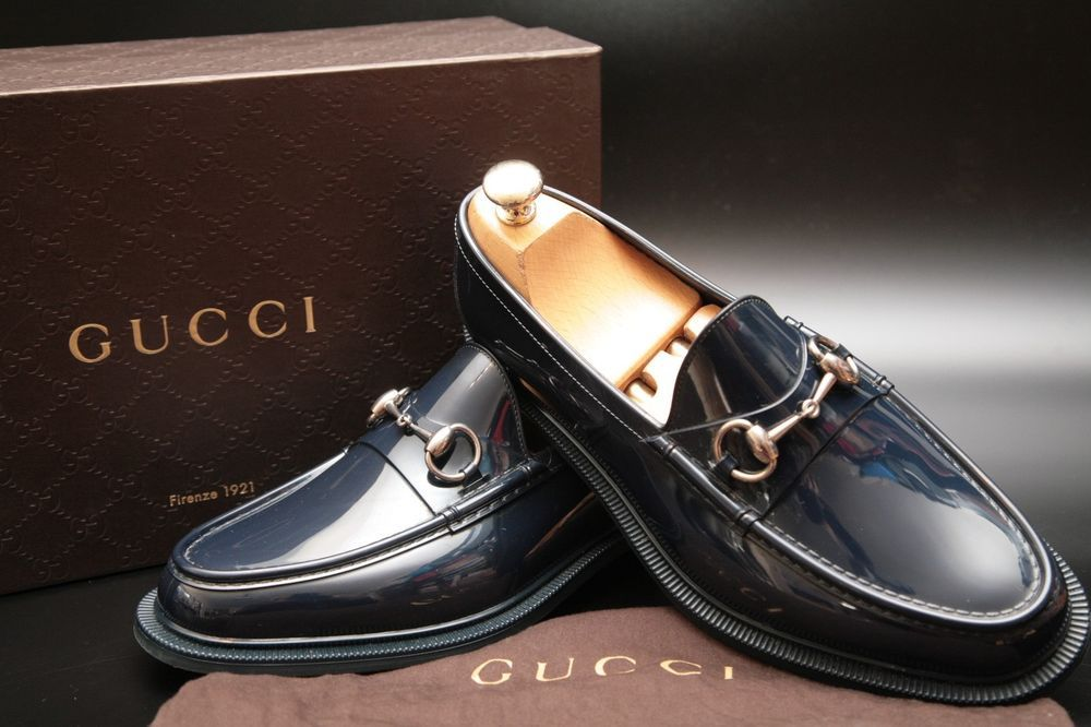 697d0a70fb8 Gucci Men s Blue Rubber Snaffle Bit Loafers Shoes UK 6  fashion  clothing   shoes  accessories  mensshoes  dressshoes (ebay link)