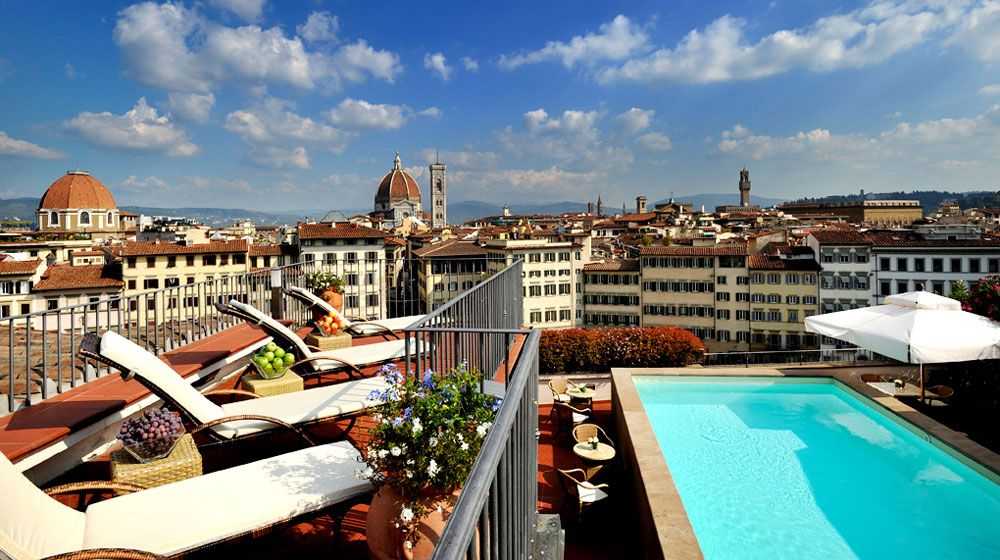 Grand Hotel Minerva Florence Italy Logement Luxe