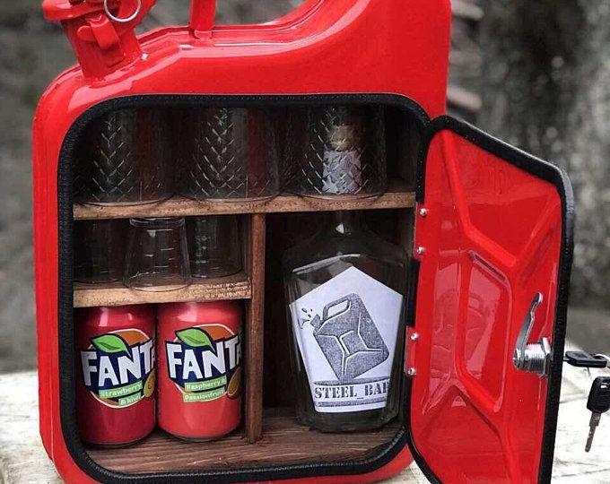 MiniBar Kanister camping Picknick Kartusche neue Mann