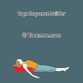 fish pose bolster yoga matsyasana bolster  yoga