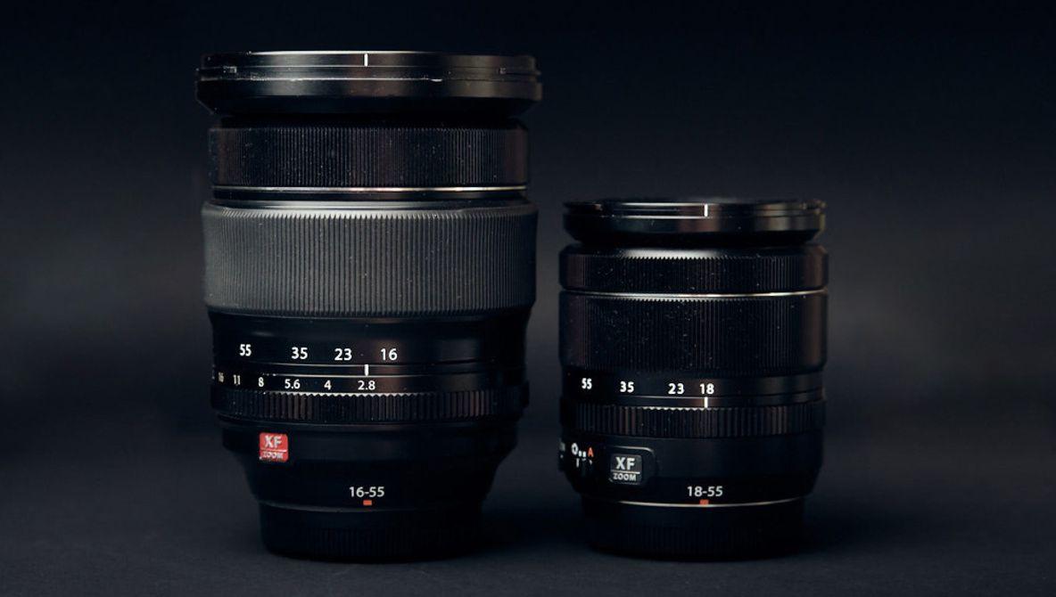 Fstoppers Compares The Fujifilm Xf 18 55mm F 2 8 4 And Xf 16 55mm F 2 8 Fujifilm Aperture Settings Compare