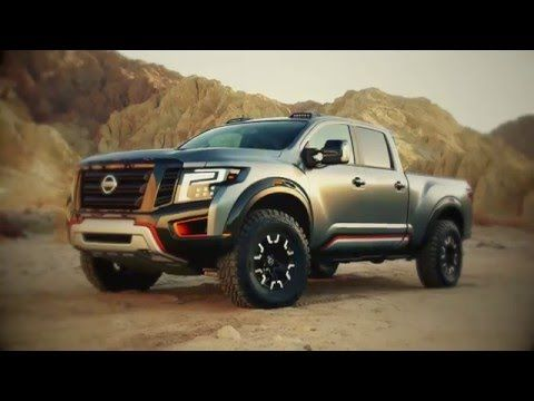 Nissan Titan Warrior Concept Makes World Debut At The 2016 North