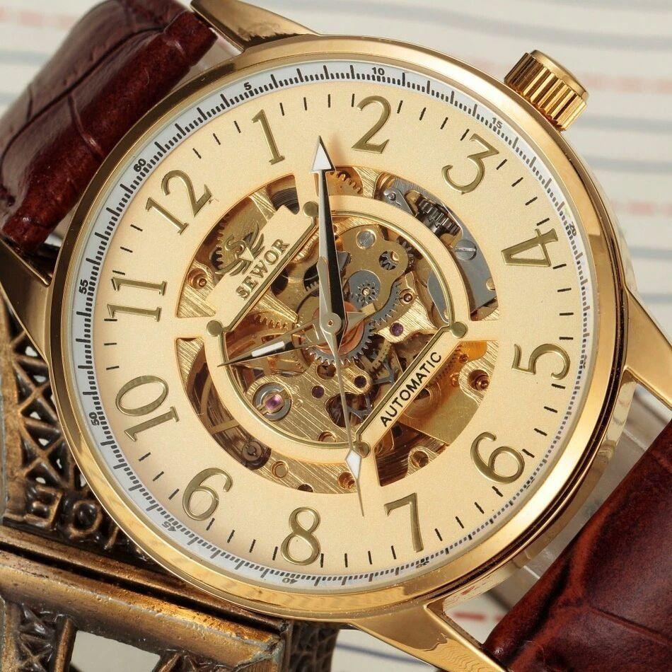 d60ac7ae9ba Relógio Masculino Esqueleto Sewor www.rwprodutosbrasil.com.br ...