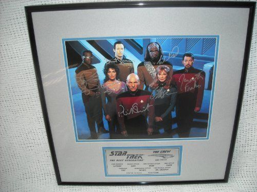 Back in 1991, (the 25th Anniversary of Star Trek) Scoreboard/Catch a Star Inc. already world famous for sports related signed collectibles, arranged a special signing through Param