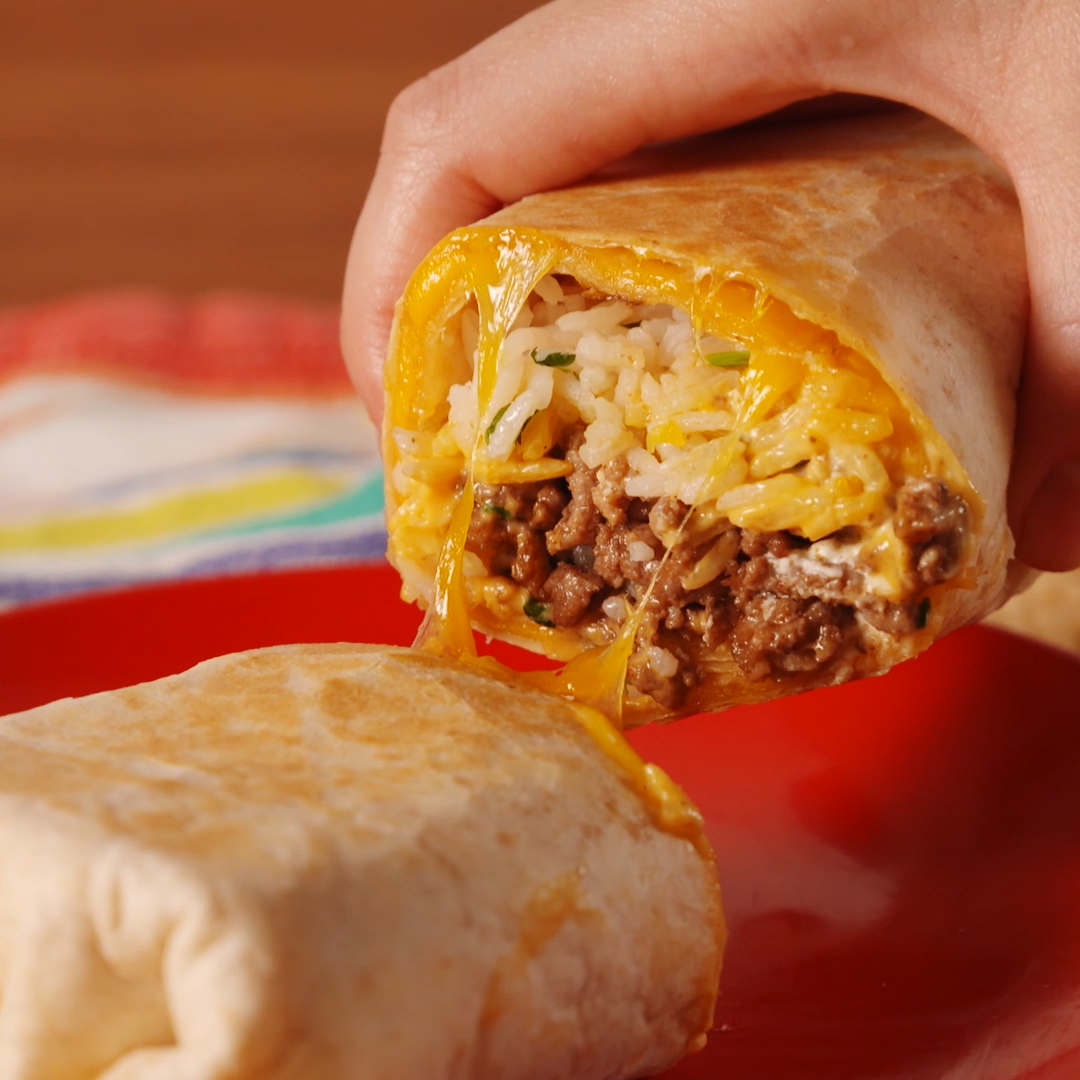 You can make Taco Bell's quesadilla-burrito hybrid at home with just a few steps! Get the recipe at .