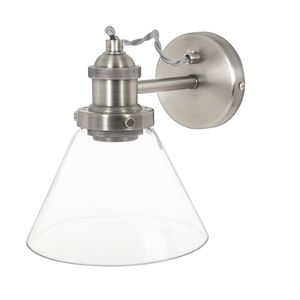 finest selection 91616 8133d Isaac Brushed Chrome Wall Light | livingroom | Wall lights ...
