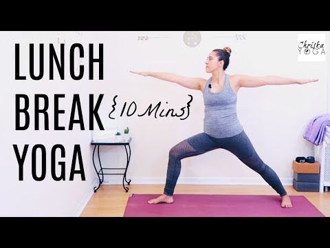 yoga pick me up  midday yoga routine  10 minute yoga