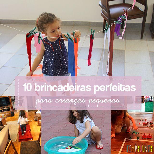 As 10 Melhores Brincadeiras Para Criancas De 3 Anos Brincadeiras