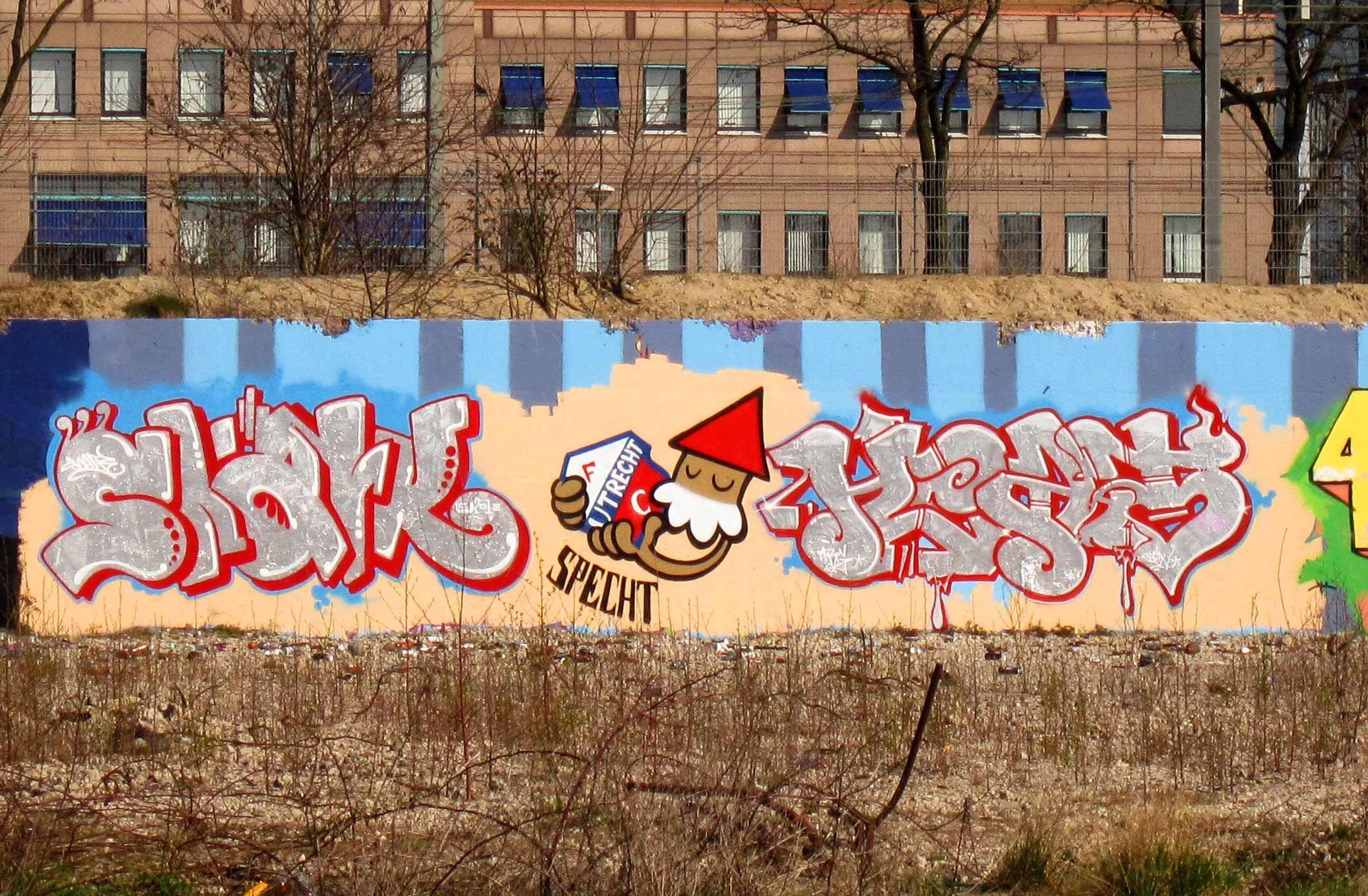 Graffiti wall utrecht - Kbtr Fc Utrecht Eh Specht