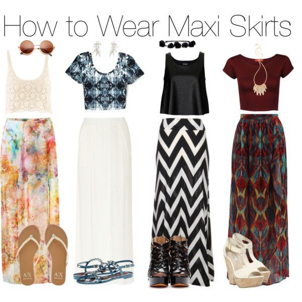 Styling maxi skirt summer – Modern skirts blog for you