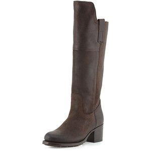 Frye Autumn Shield Leather Knee Boot