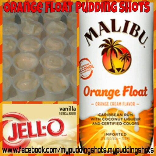 Orange Float Pudding Shots. See Full Recipe On Facebook
