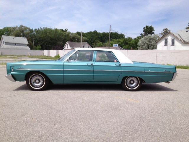 1965 Meteor Rideau Mercury Monterey Canada Built Sedan Based On Ford Galaxie Mercury Parts This Car Has A 352 Where Classic Cars Ford Galaxie Vehicles