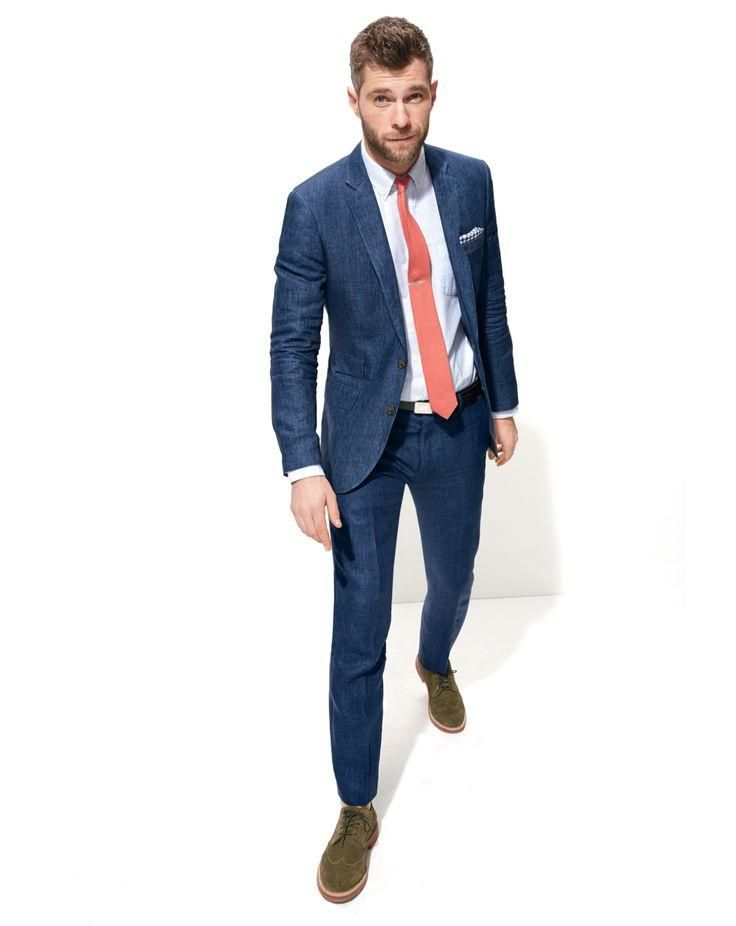 3883a17fe5e J.Crew men s Ludlow suit in Delave Italian linen. To preorder call 800 261  7422 or email erica jcrew.com.  combo  suit  navy