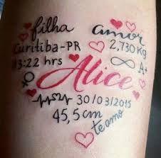 Resultado De Imagem Para Tatuagem Pai E Filha De Maos Dadas