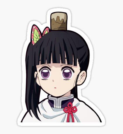 Kanao Tsuyuri Demon Slayer Kimetsu No Yaiba Anime Laptop Peeker Sticker