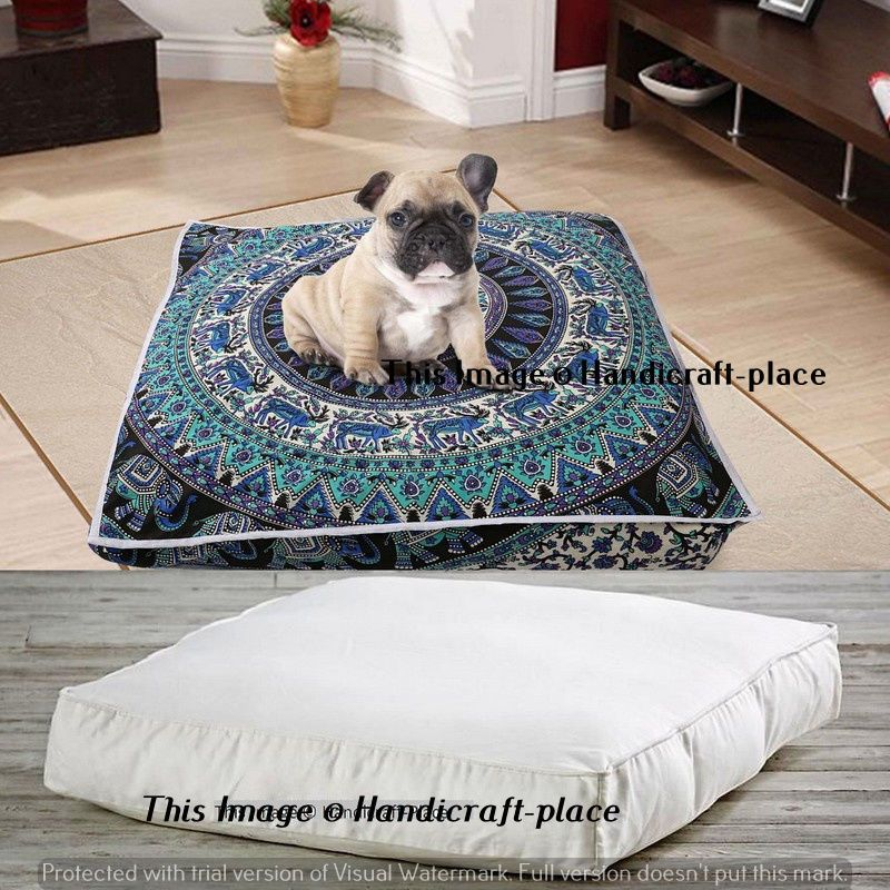 40 Bohemian Large Mandala Square Floor Pillow Insert Cushion Cover Amazing Square Floor Pillow Insert