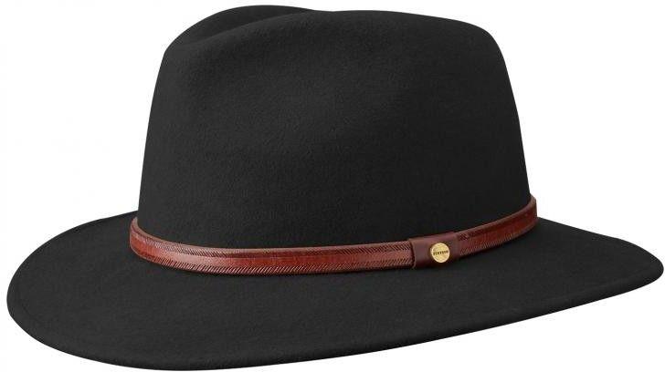 Sombrero para viajar con estilo. Este sombrero Stetson está hecho del  fieltro de lana patentado d15af04ea7e