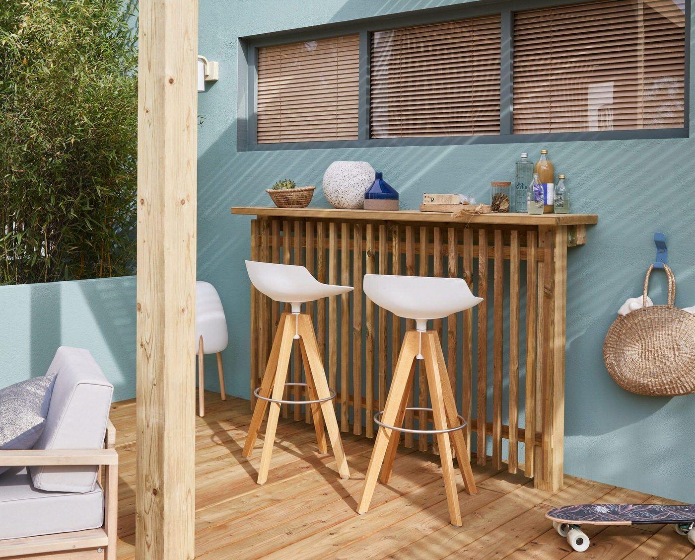 Les Produits Phares Pour Vous Lancer Leroy Merlin Inspiration En 2020 Jardin Maison Salon De Jardin Design Decoration De Cafe