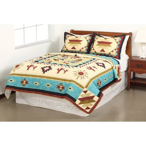 Pin By Rebecca Call On Bedroom Southwestern Quilts