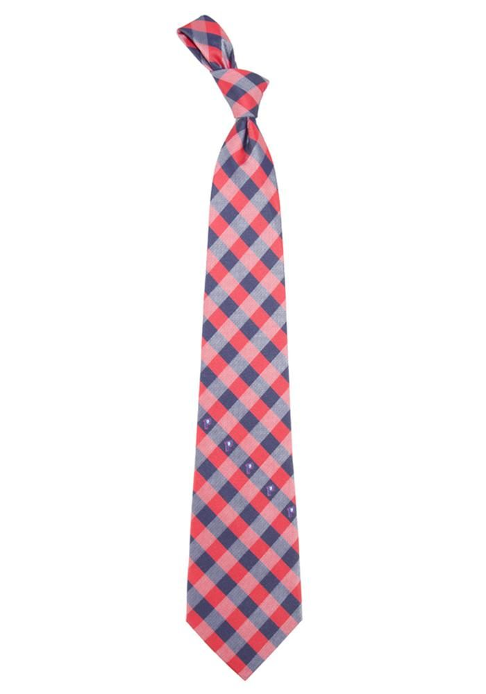 timeless design b8174 29dac Detroit Pistons Check Mens Tie, Blue, 100% POLYESTER ...