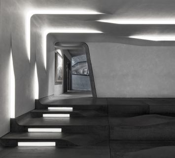 MMM Corones by Zaha Hadid Auditorium Pinterest