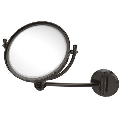 8 Inch Wall Mounted Make-Up Mirror 3X Magnification, Oil Rubbed Bronze - (In No Image Available)