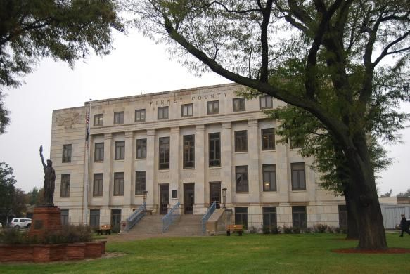 Finney County Courthouse Garden City Ks Built 1928 Architect