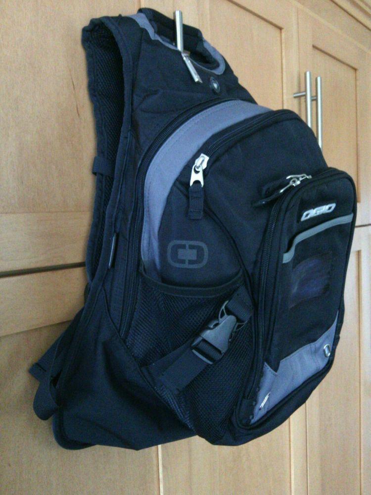 b4c4f71a94 Ogio Tech Specs Fugitive Backpack Audio Pocket Black   Gray Laptop 15    Computer