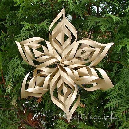 Christmas Paper Craft - Christmas Star Window Decoration ...
