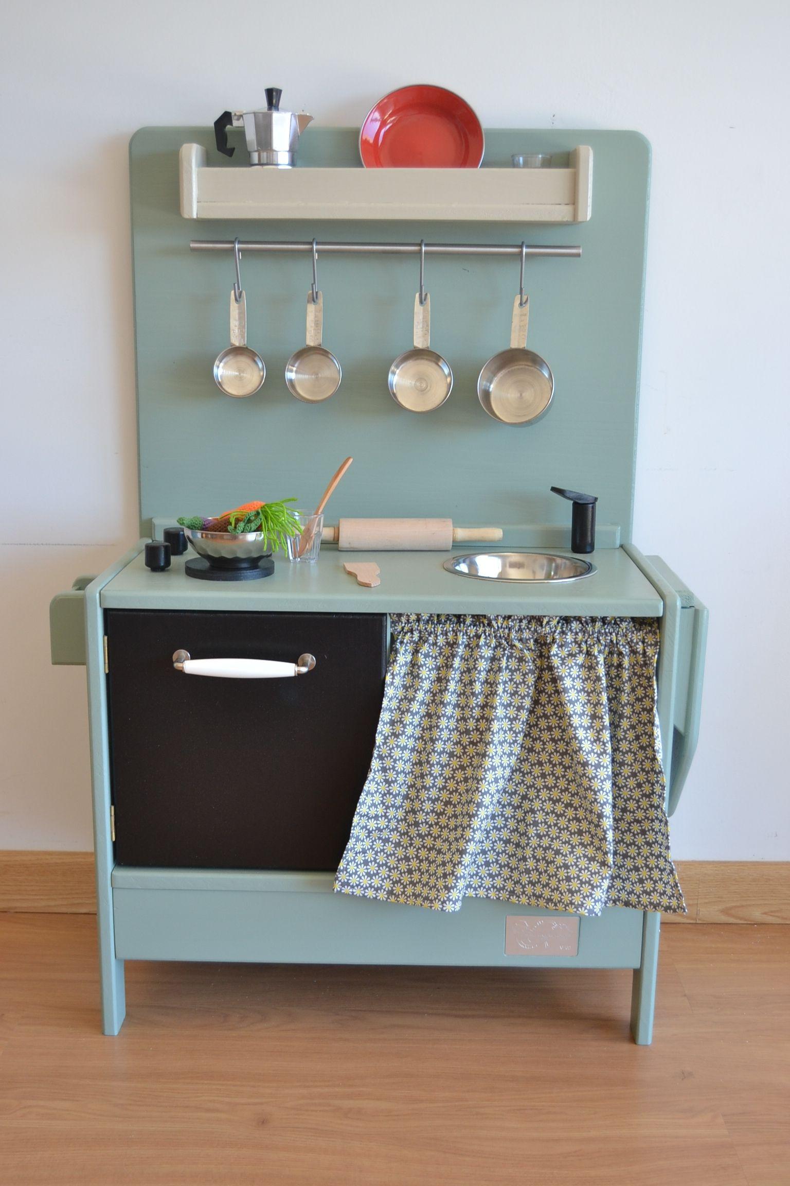 Wooden toy kitchen. BAM model. Macarena Bilbao. | kids | Pinterest ...