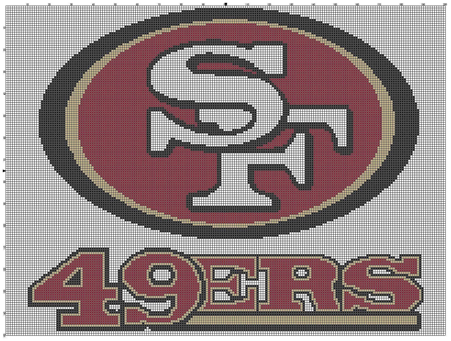 San Fran 49ers I have this graphghan pattern on my computer, not ...