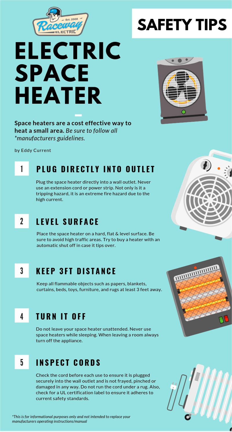 Brrr, it's cold outside! Electric space heaters can help