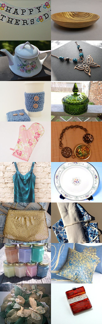 Mother's Day Gift Ideas! by Sharmila on Etsy--Pinned with TreasuryPin.com