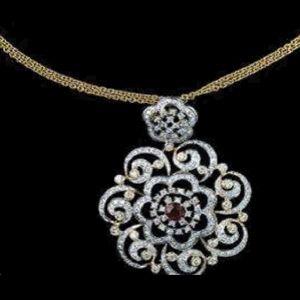 Gold and diamond jewellery designs tanishq designer diamond pendant gold and diamond jewellery designs tanishq designer diamond pendant aloadofball Choice Image