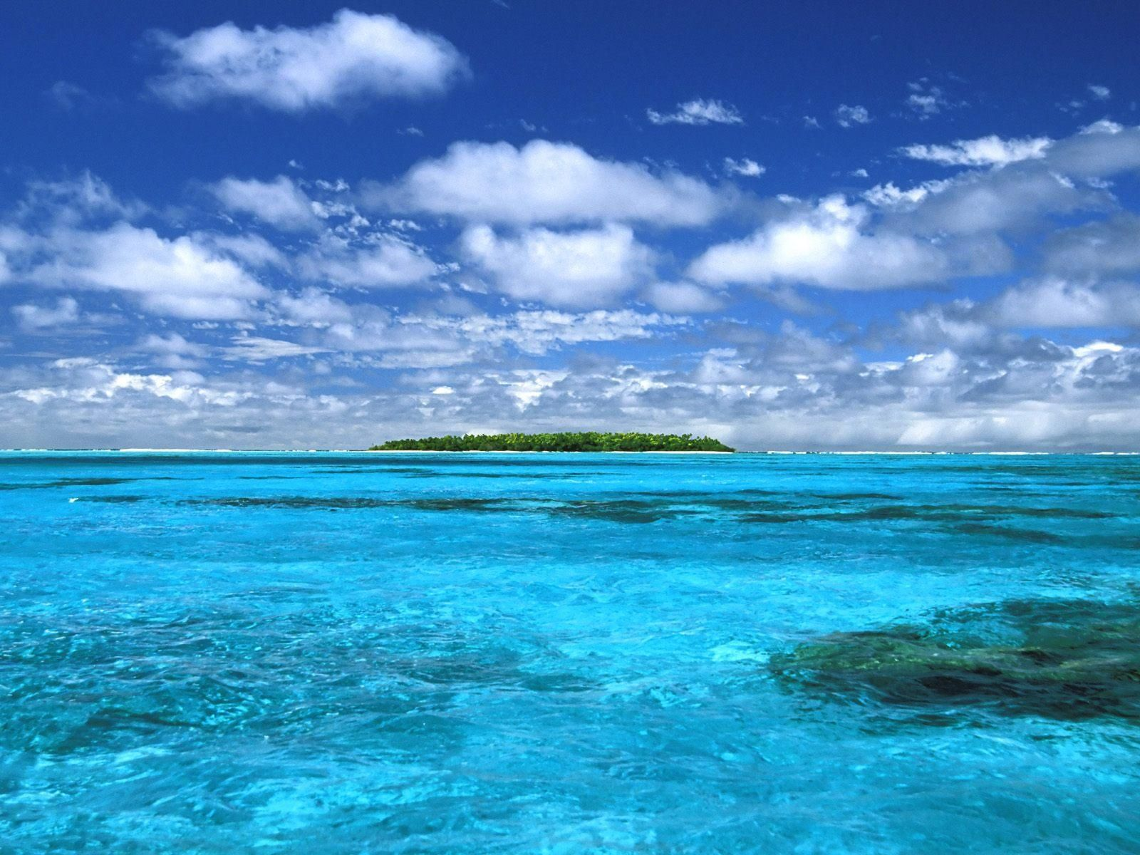 beach blue water free pc background photo | Beautiful Nature ...