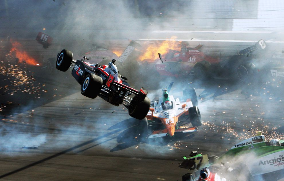 Attractive Car Race Crashes Pictures - Classic Cars Ideas - boiq.info