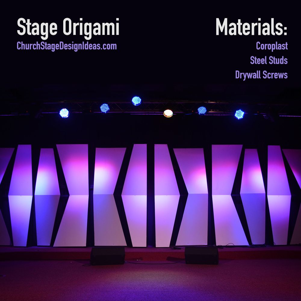 Stage Origami | Stage it | Pinterest | Stage, Origami and Stage design