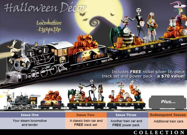 NIGHTMARE BEFORE CHRISTMAS EXPRESS TRAIN COLLECTION - If I ...