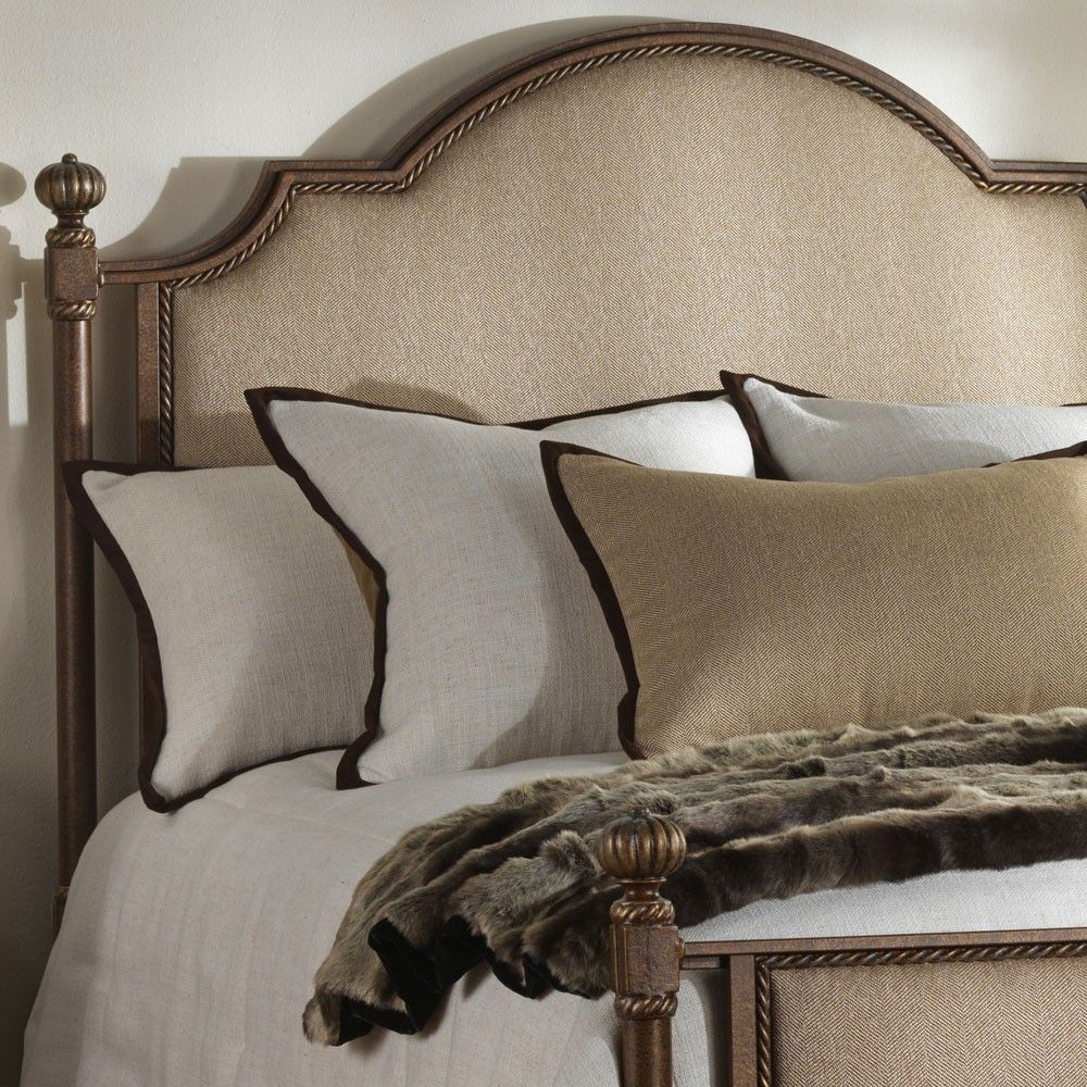Wesley Allen Jasmine Queen Bed Bed, Queen beds, Bedroom