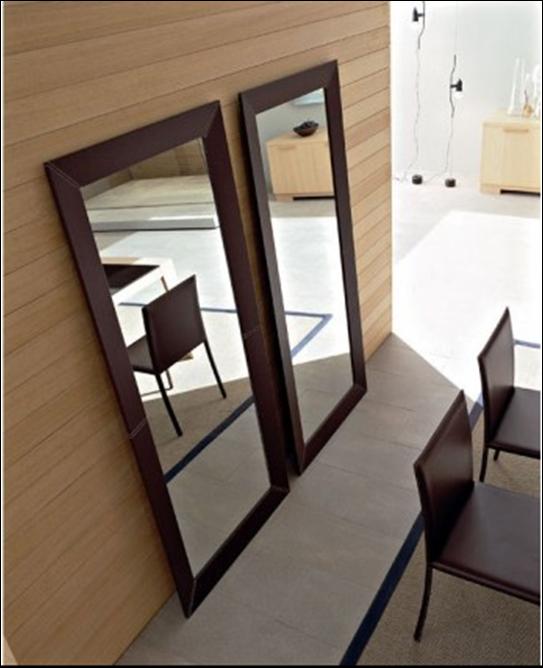 Espejos grandes de piso para m s amplitud en el espacio for Espejos horizontales para comedor