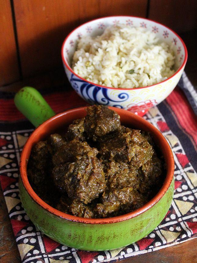 Indonesian Lamb Rendang Lamb Dinner Lamb Dishes Indian Food