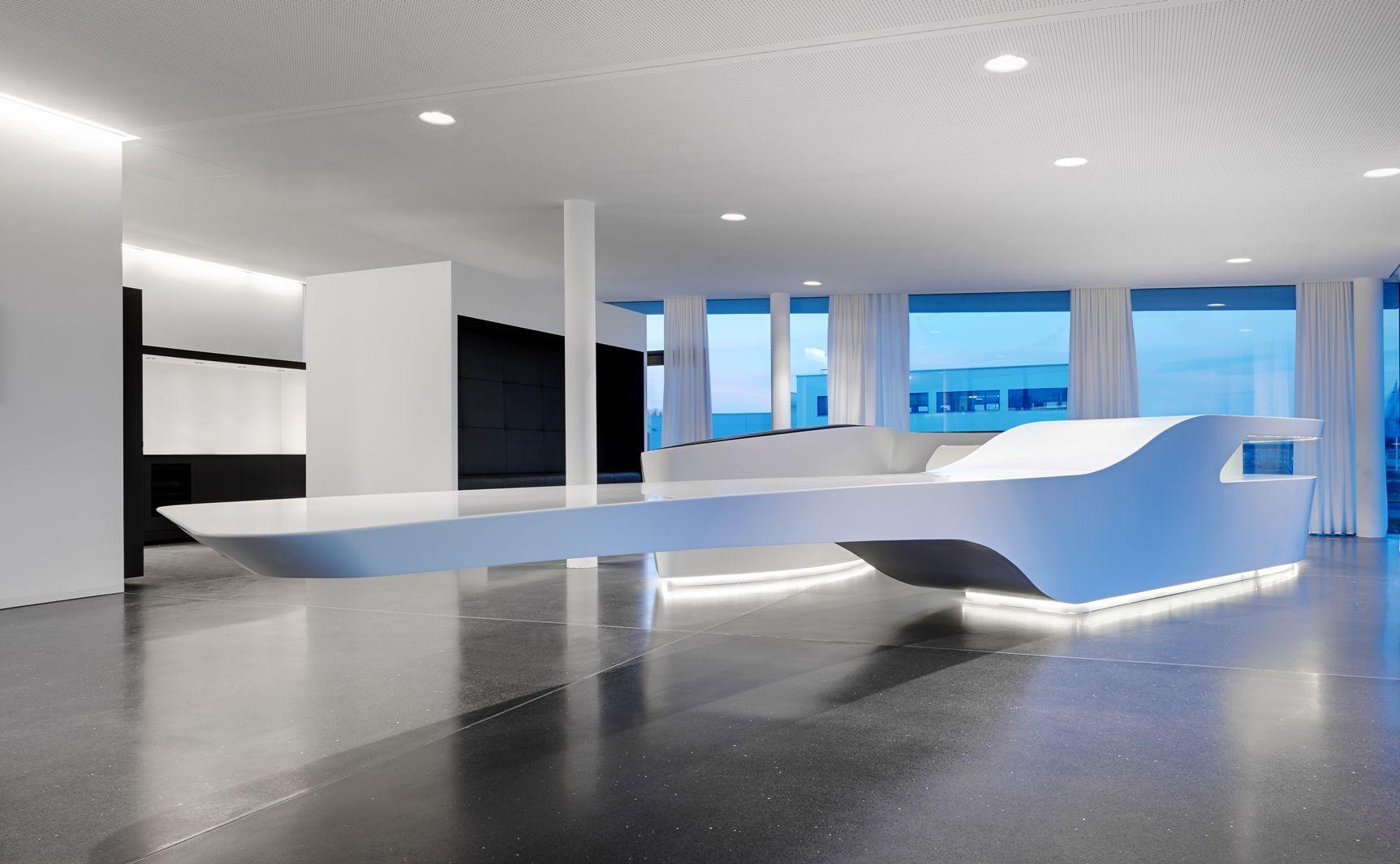 monovolume - Arch. Patrick Pedò  Arch. Juri Pobitzer Bolzano - Lighting concept: Eurolicht GmbH Bolzano. - Foto: Fitistudio Jürgen Eheim Bolzano