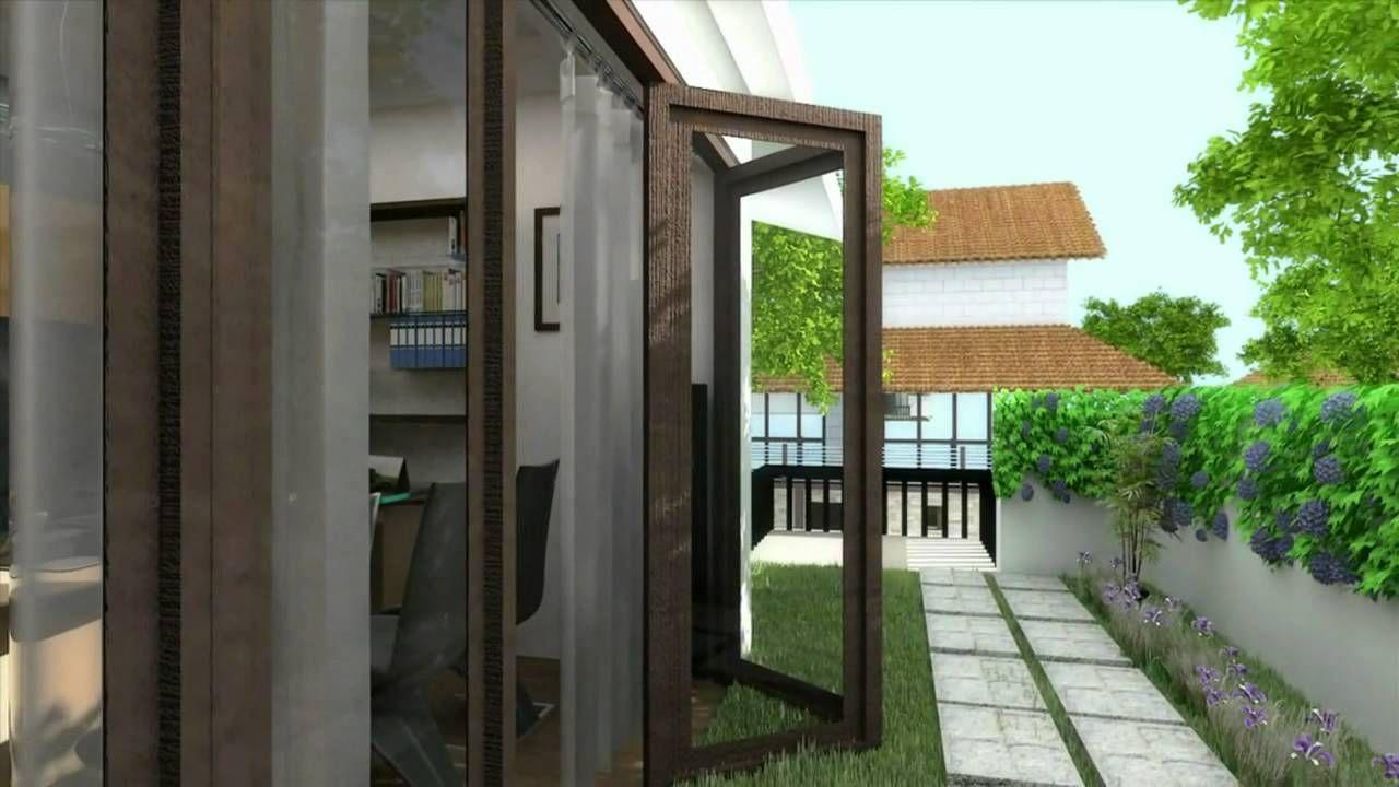 Headcorn minimalist house - Zana Zana Plus Villa In Lefkada 3d Visualization Animation Secret Garden Kitchen Place Cafe S Sweets Blossom Pinterest 3d