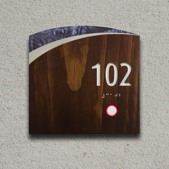 Pin on lift corridor guestroom corridor feature wall for Hotel door decor