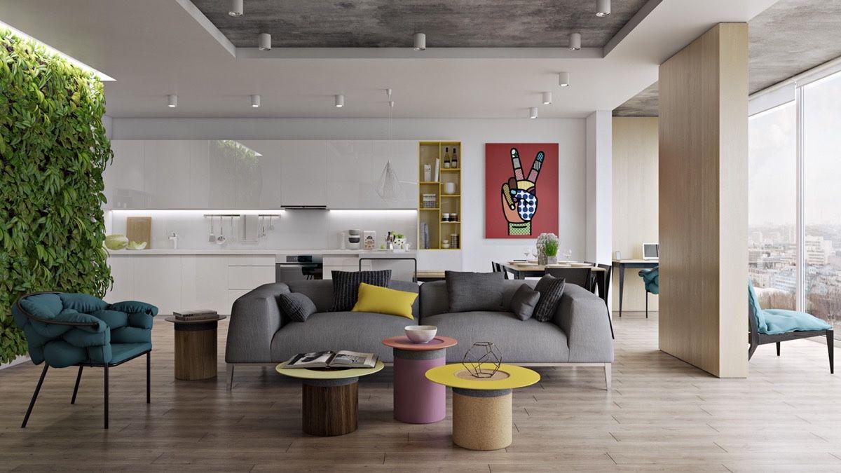 30 Wohnzimmer, die Design-Epochen übertreffen | Wohnzimmer Ideen ...