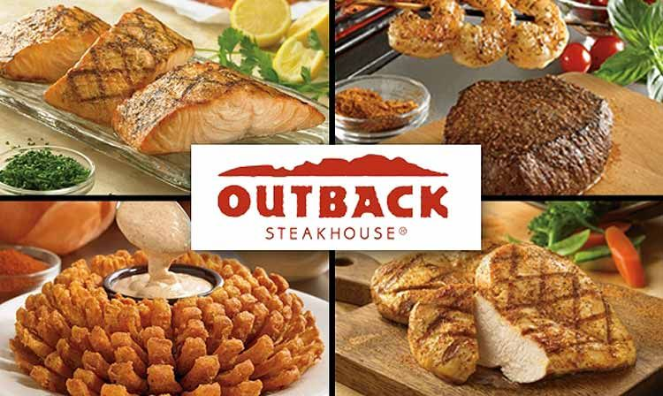 Access outback steakhouse gift