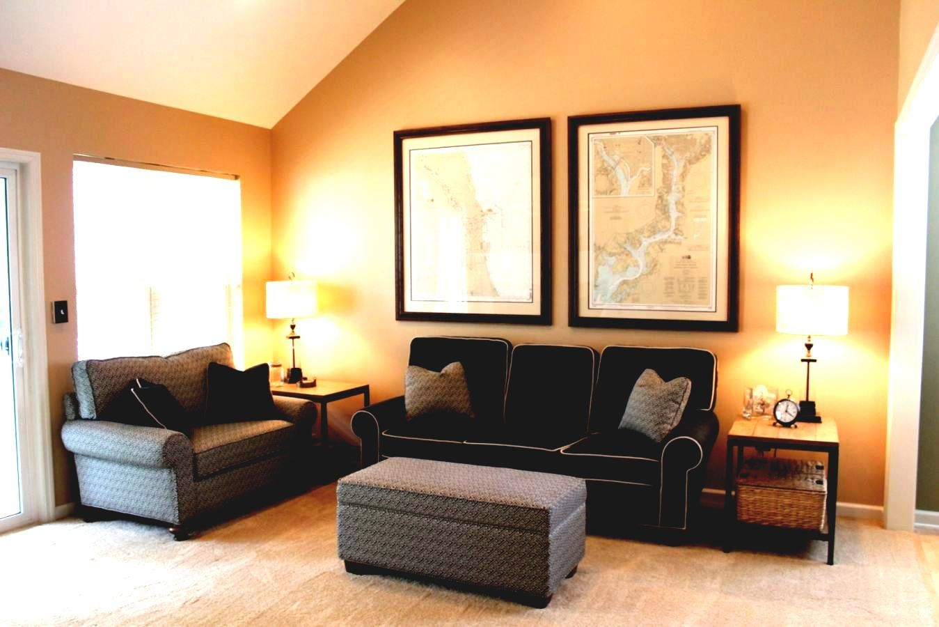 Modern interior painting ideas | Living room wall color