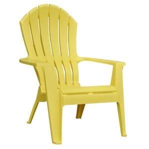 Chaise Adirondack Jaune Plastic Patio Chairs Resin Patio Chairs