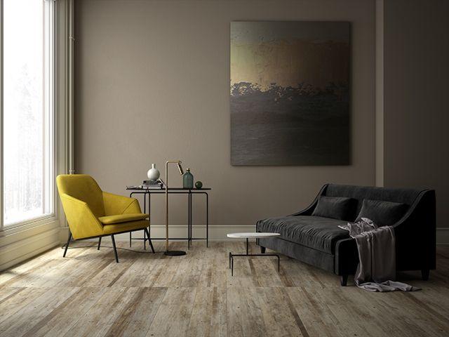 Sal n madera cer mica imitaci n hiper realista de madera - Pavimento imitacion madera ...